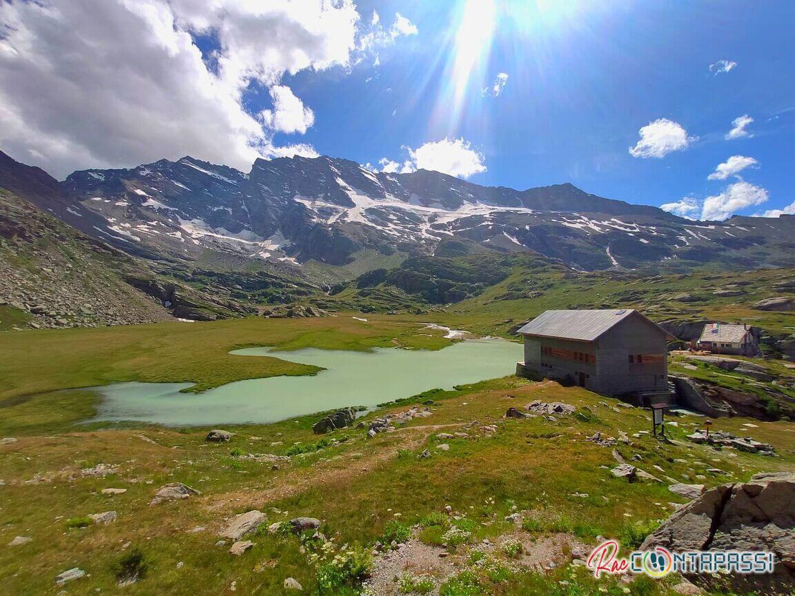 Pranzo vista lago al Rifugio Guglielmo Jervis
