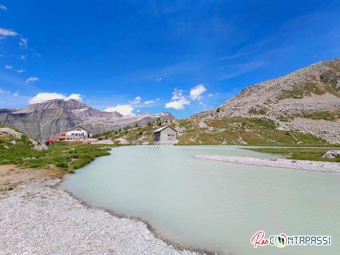 Lago al Rifugio Guglielmo Jervis